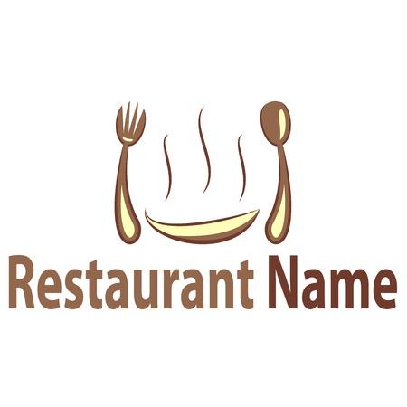 restaurant eating: logo restaurant
