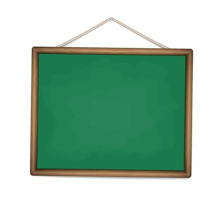 green chalkboard illustration