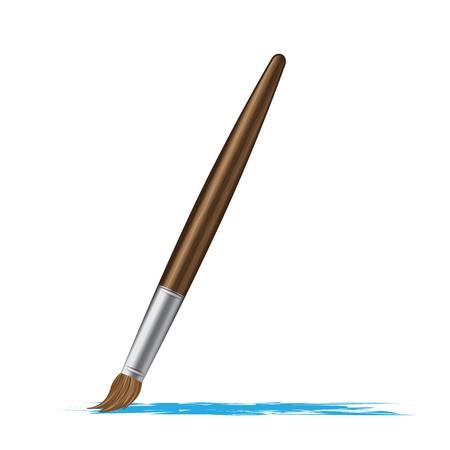 Paint brush vector illustration