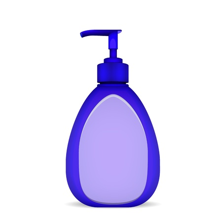 Bottle Of Liquid Soap Stock Vector - 16136623