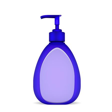 Bottle Of Liquid Soap Stock Vector - 16136623