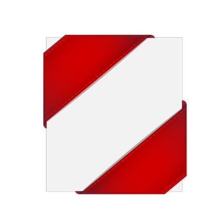 imagery: Corner ribbon Illustration