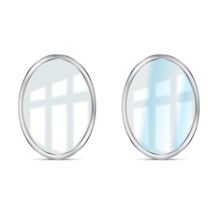 mirrors set vector Stock Vector - 18619514