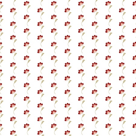 small flowers seamless pattern illustration Illustration