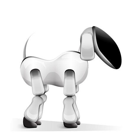 Vector illustration of robot dog Stock Vector - 22015584