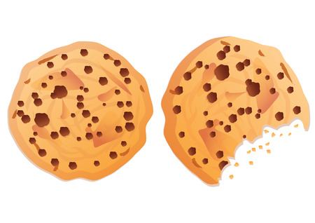 shortbread: chocolate cookie  Illustration