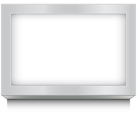 illuminated frame design Illustration