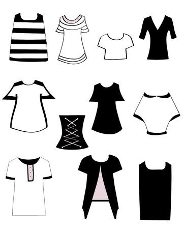set womens T-shirts
