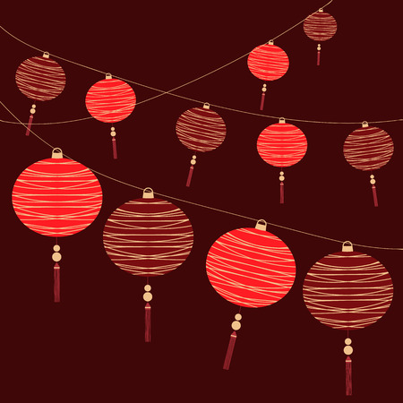 chinese lantern: Chinese Lantern Background