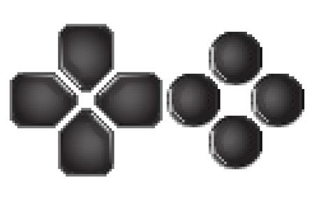 the gamepad: button gamepad pixel art