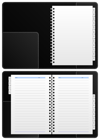 Diary Notebook  Stock Vector - 7109786