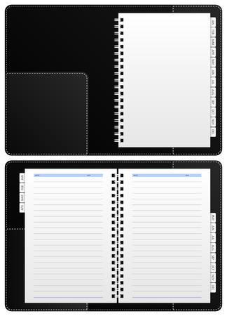 Diary Notebook Stock Vector - 7109786