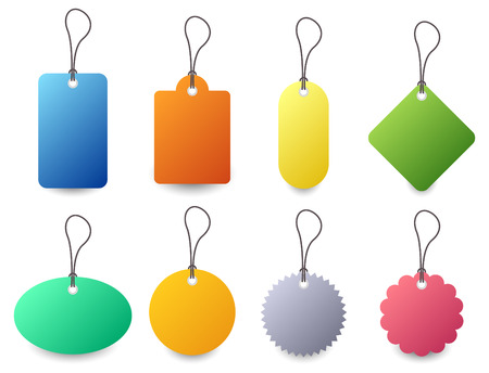 Tag Set Vector Stock Vector - 7113334
