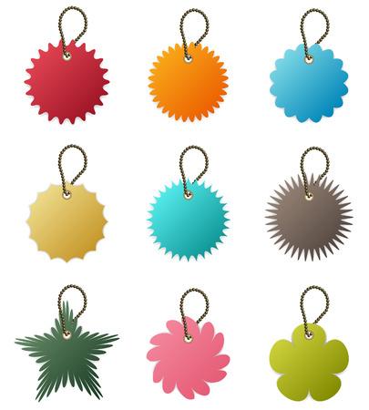 key chain: Key Chain Tag Vector