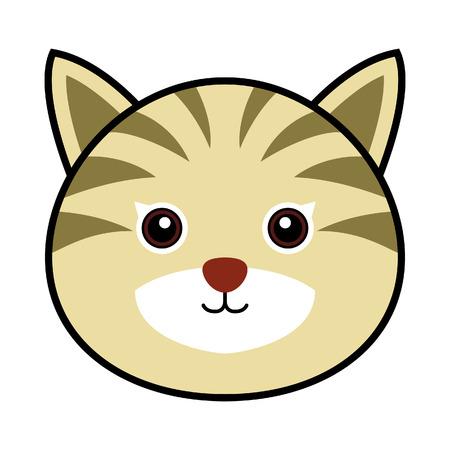 schattige dieren cartoon: Cute Cat