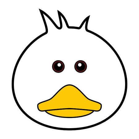 Cute Duck Stock Vector - 7158278
