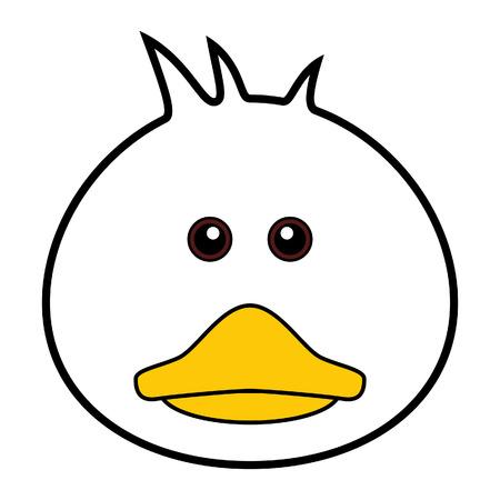beaks: Duck carino
