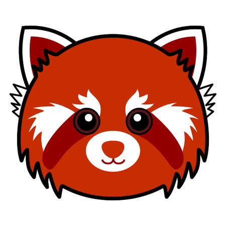 Cute Red Panda Stock Vector - 7158302