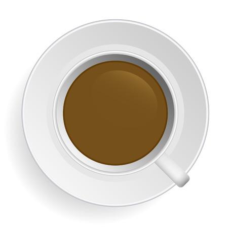 milk tea: Coffee  Illustration