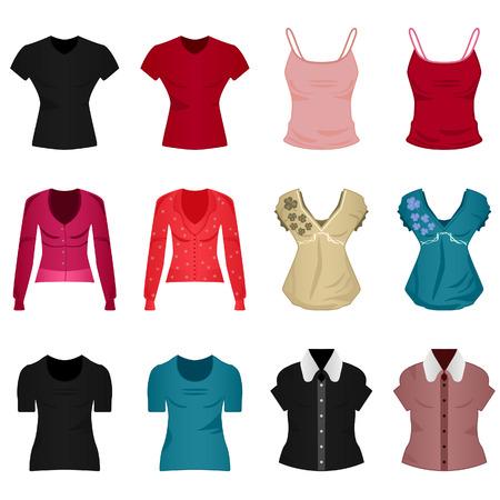 fille pull: Femme femme Girl chemise Blouse Tops Cloth v�tements Wear