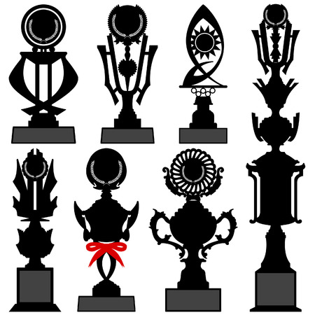 Trophy Cup Award Prize Vector