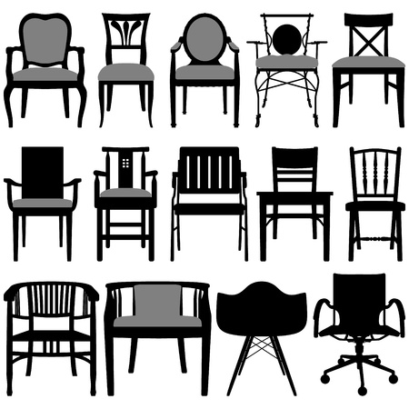 Chair Design Stock Vector - 12483508