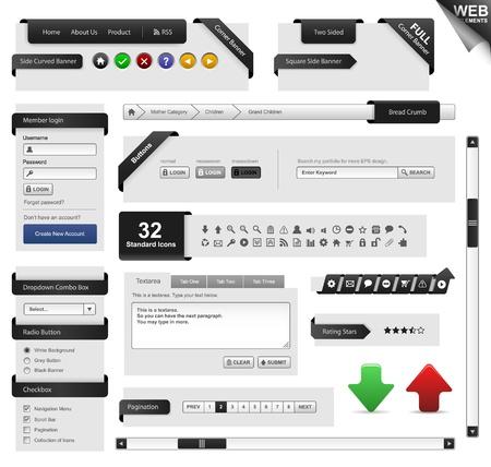 Web Design Frame Stock Vector - 18812185