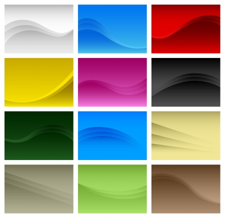 Abstract Background Wave  Stock Vector - 18809632