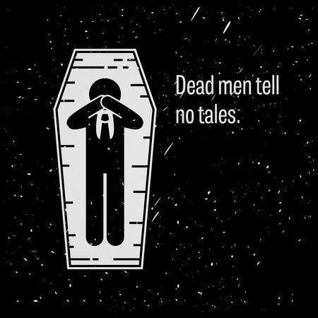 Dead Men Tell No Tales Vettoriali