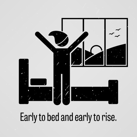 robust: Early to Bed and Early to Rise