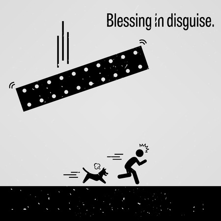 Blessing in Disguise Illustration