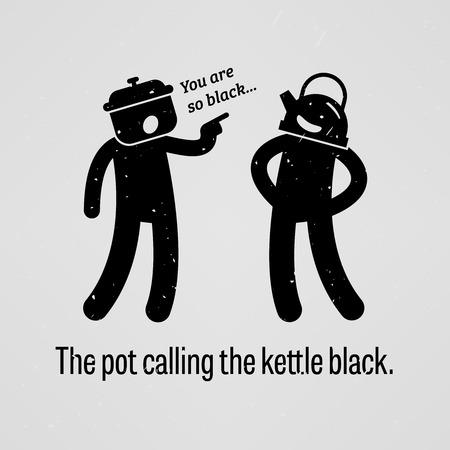 critique: The pot calling the kettle black