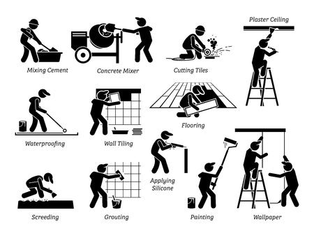 House renovation image illustration