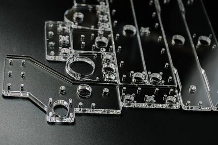 glass parts for cnc machine. Acrylic form machine parts, laser cutting and engraving