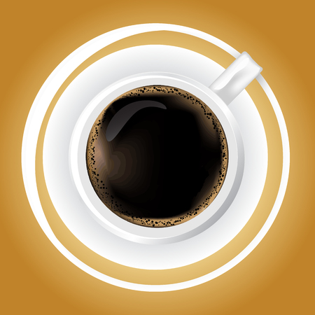 caffee: Cup of Caffee - vector graphic