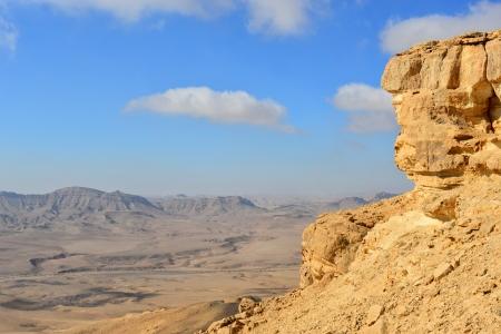 negev: Crater Mahtesh Ramon in the Negev desert