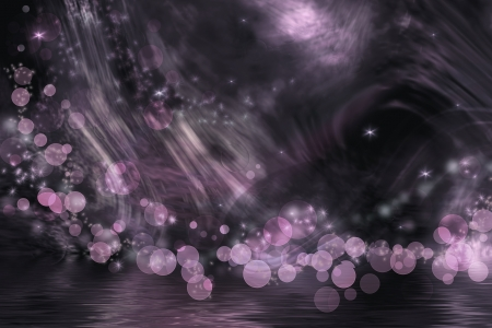 Abstract fantasy in dark pink, gray and black colors. Stock Photo - 18083020