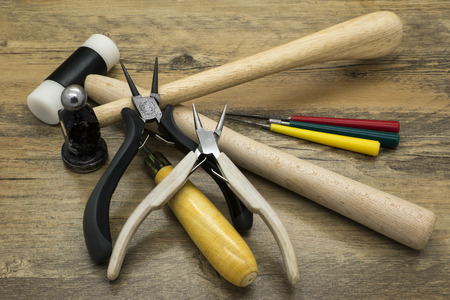 Jewelry tools. Tools for creating and repairing jewelry.