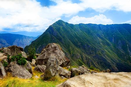 Beautiful mountains in Peru.