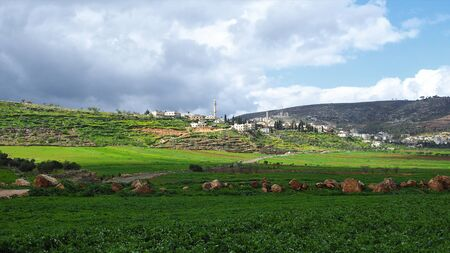 Arabian city in the Palestinian Authority.