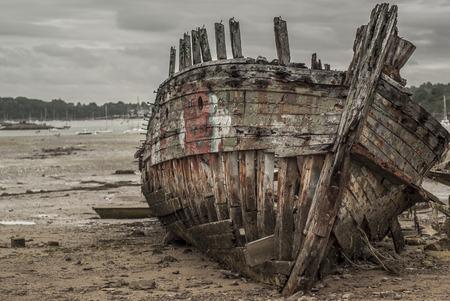 poleas: Barcos antiguos fallaron Foto de archivo