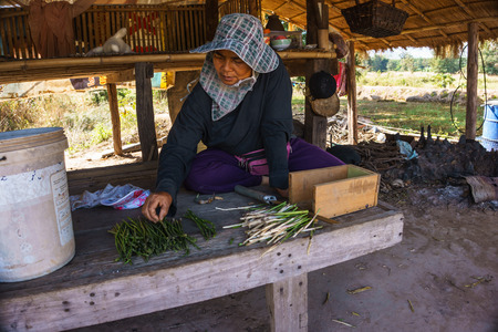 A women country life as farmers