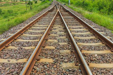 railway transportation: railroad for transportation, transport railway