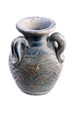 antique vase isolated over white background Stock Photo - 4811822