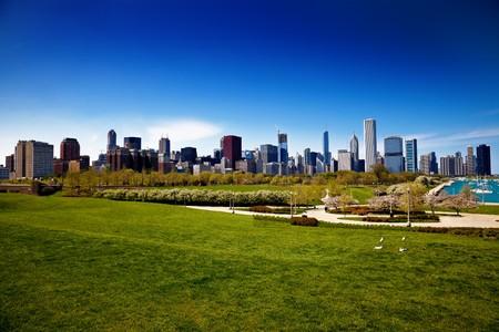 Panoram of the city Standard-Bild
