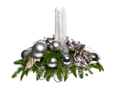 artificial flowers: christmas decoration