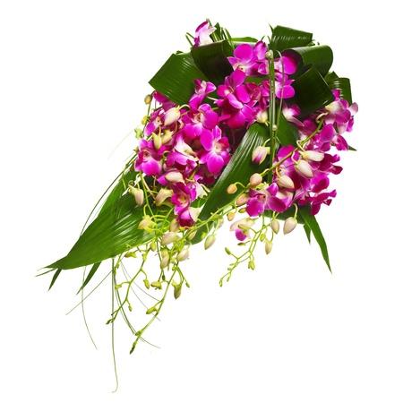 boeket van orchideeën Stockfoto