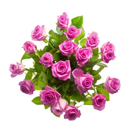 Bouquet von lila Rosen Standard-Bild - 12843031