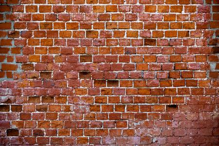 Jahrgang Ziegelmauer Standard-Bild - 38117340