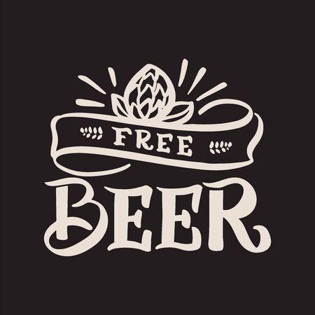 Beer free Ilustracja